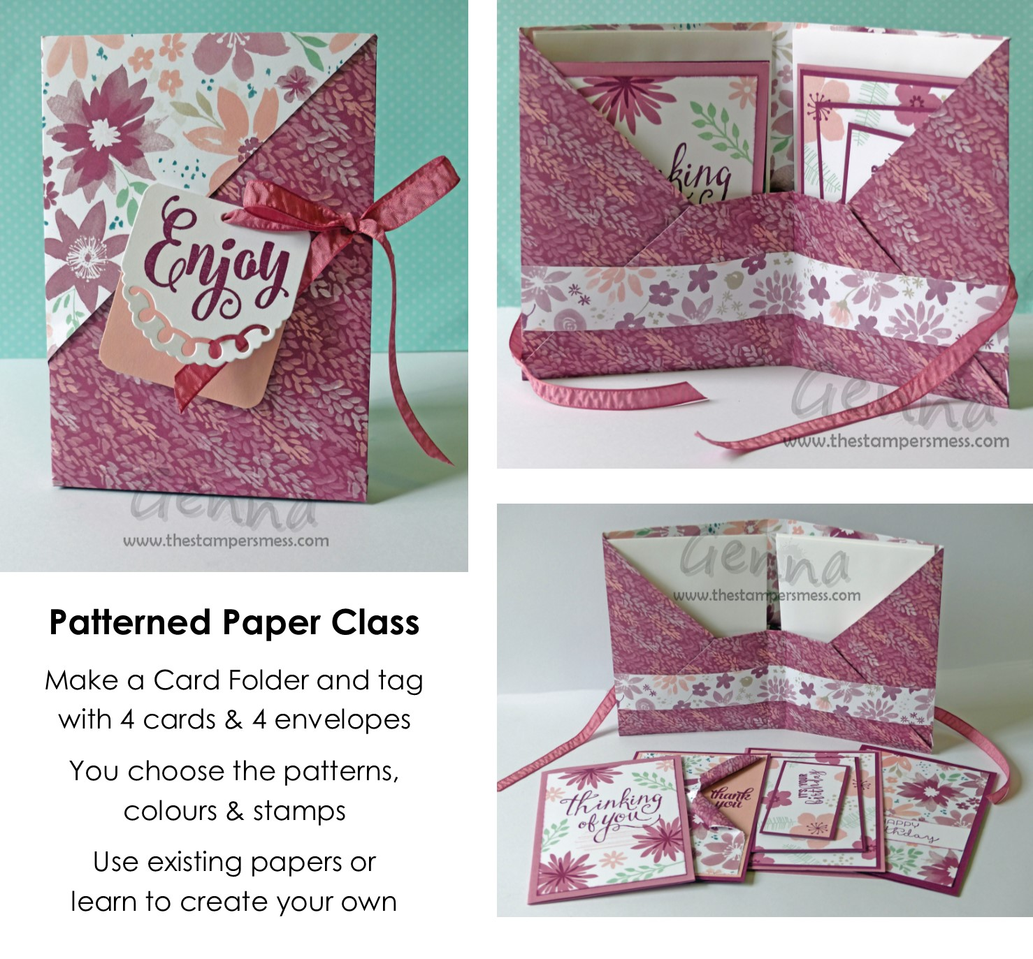 Patterned Paper Class