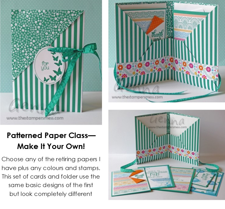 Patterned Paper Class2